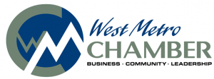 The official logo of the west metro chamber