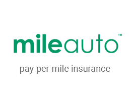 The official logo of Mile Auto